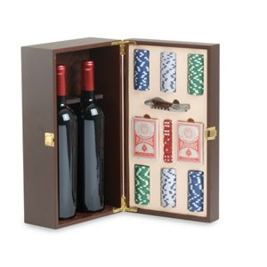 Cassetta con accessori vino CL405