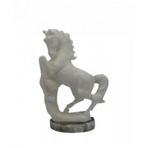 Cavallo Scultura in Alabastro