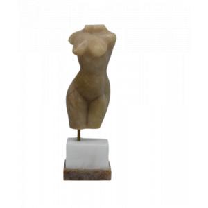 Scultura donna in Alabastro