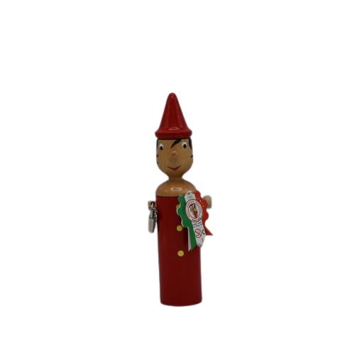 Pinocchio Salvadanaio Rosso 24cm