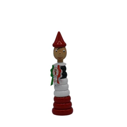 Pinocchio Gioco Anelli Tricolore 23cm