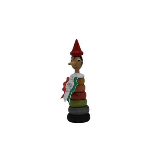 Pinocchio Gioco Anelli Vari Colori 18cm