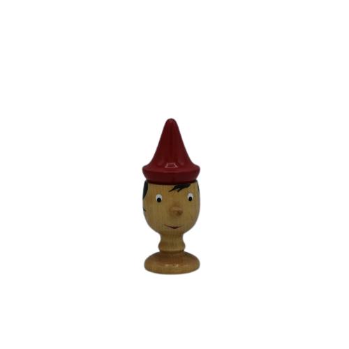 Pinocchio Porta uovo 14cm