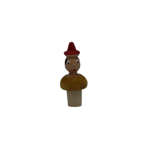 Pinocchio Tappo per vino - Marrone (Legno)