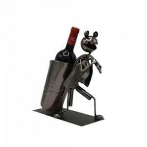 Porta vino in metallo - La...